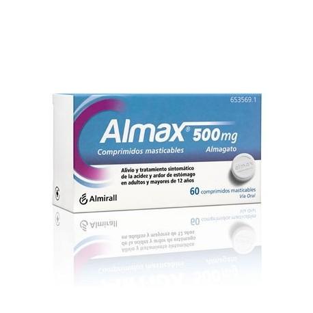 Almax 500 Mg 60 Comprimidos