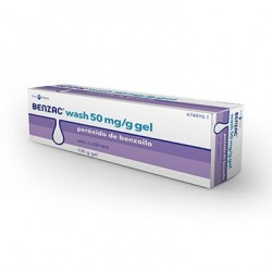 Oxiderma Wash 5% Gel Topico 100 G