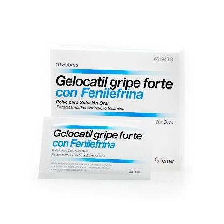 Gelocatil Gripe Forte 10 Sob
