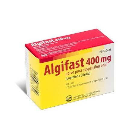 Algifast 400 Mg 4 Sobres