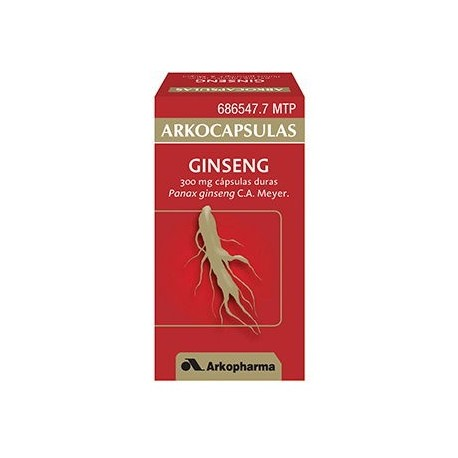 Arkocapsulas Ginseng 300 Mg 50 Capsulas
