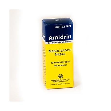Amidrin 0.1% Nebulizador Nasal 10 Ml