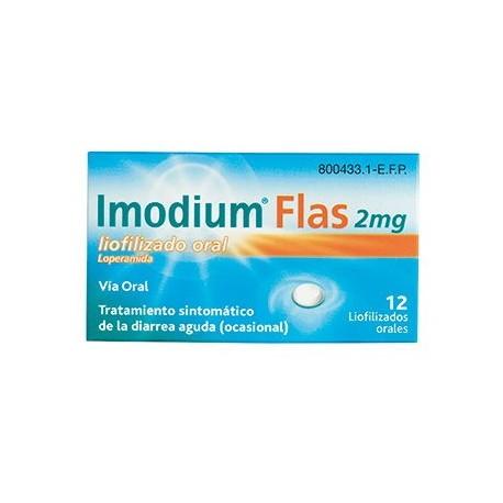 Imodium Flas 12 Comprimidos