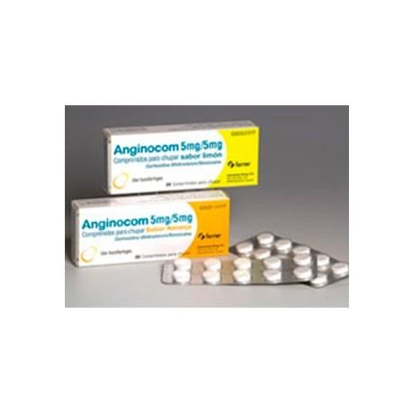 Anginocom 20 Comprimidos Para Chupar Limon