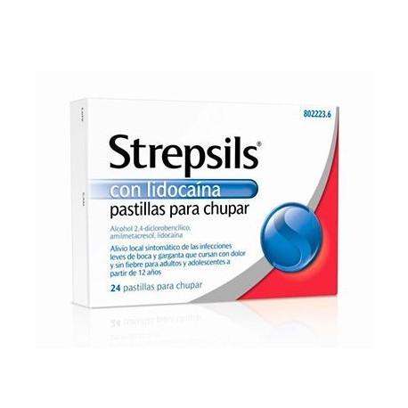 Strepsils Lidocaina 24 Past
