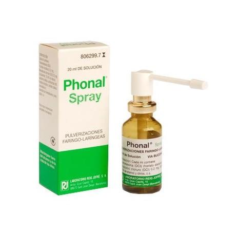 Phonal Spray Solucion 20 Ml