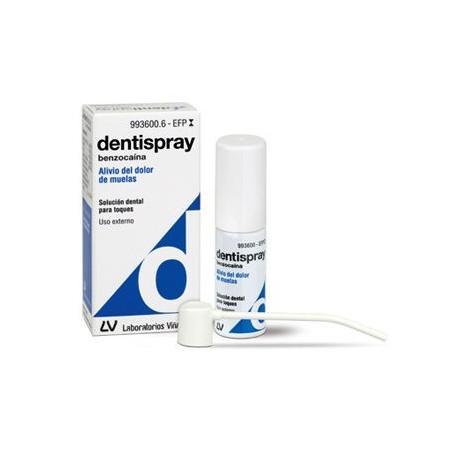 Dentispray 5% Solucion 5 Ml