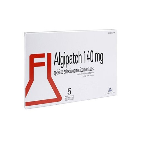 Algipatch 140 Mg 5 Apositos Adhesivos