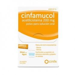 Mucoaliv 200 mg 20 sobres compra farmacia online