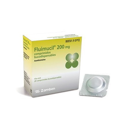 Fluimucil 200 Mg 16 Comprimidos Bucodispersables