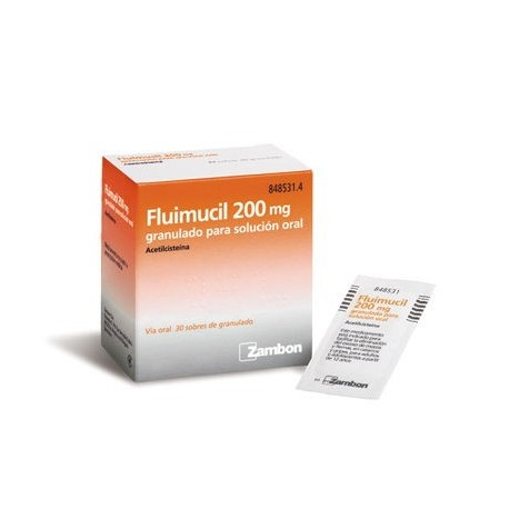 Flumil 200 Mg 30 Sobres