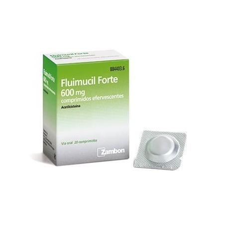 Flumil Fte 600 Mg 20 Compr Efer
