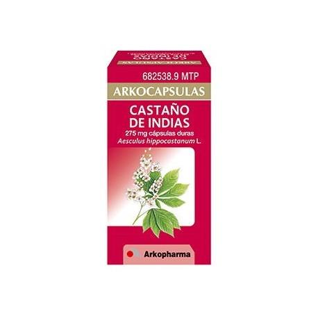 Arkocapsulas Castaño De Indias 275 Mg 48 Capsula