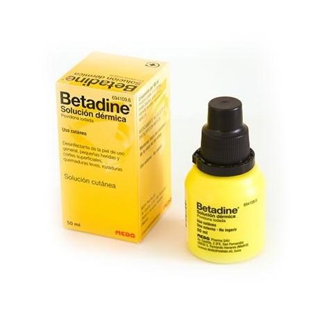 Betadine 10% Solu Dermica 50 Ml