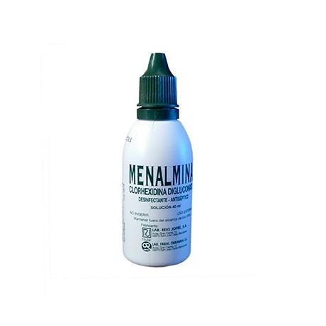Menalmina 1% Solucion Topica 1 Frasco 40 Ml