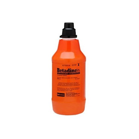 Betadine 4% Solucion Jabonosa 500 Ml