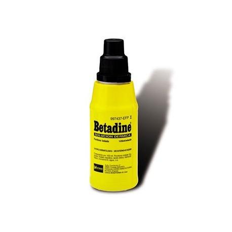 Betadine 10% Solu Dermica 125 Ml