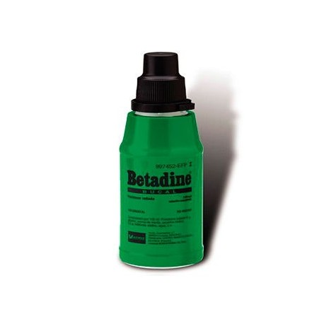 Betadine Bucal 10% Solucion 125 Ml