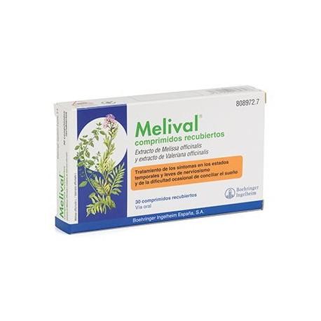 Melival 30 Comprimidos Recubiertos