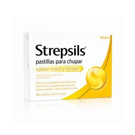 Strepsils Miel Y Limon 24 Compr