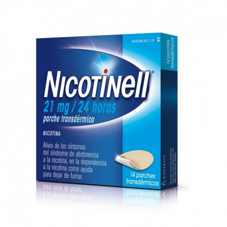 Nicotinell 21 Mg 24 Horas Parche Tansder