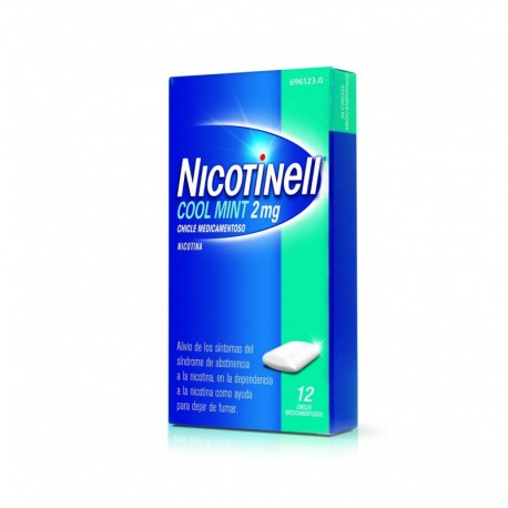 Nicotinell Cool Mint 2 Mg 12 Chicles Medicamento