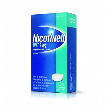 Nicotinell Mint 2 Mg 36 Comprimidos Para Chupar