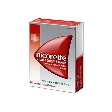 Nicorette Clear 10 Mg/16 H 14 Parches Transdermi