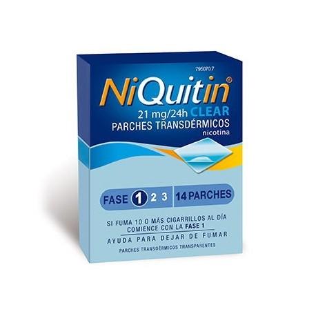 Niquitin Clear 21 Mg/24 H 14 Parches Transdermic