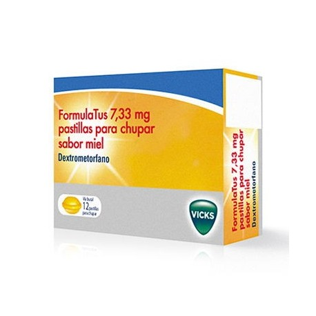 Formulatus Vicks 7.33 Mg 12 Pastillas
