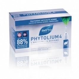 Phytolium 4 Tratamiento Anticaída Estimulador De Crecimiento 12 Dosis