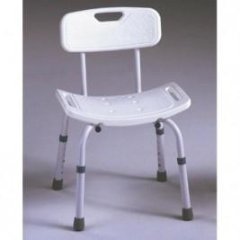 Silla Baño Aluminio Graduable Ad-537-a