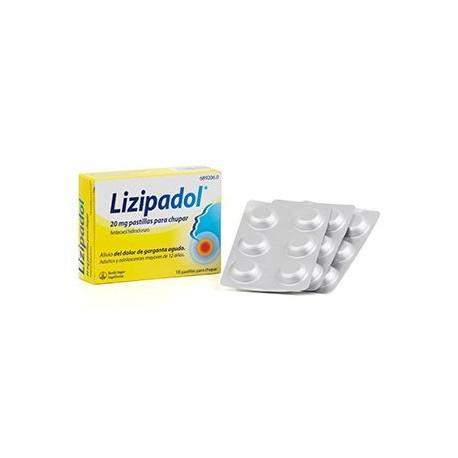 Lizipadol 18 Pastillas