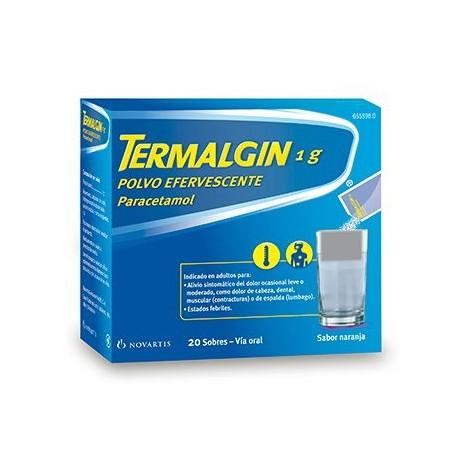 Termalgin 1 G 20 Sobres Efervescentes