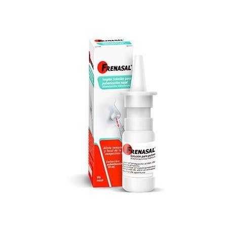 Frenasal 0.1% Nebulizador Nasal 10 Ml