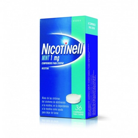 Nicotinell Comp.para Chupar Mint. 1 Mg.