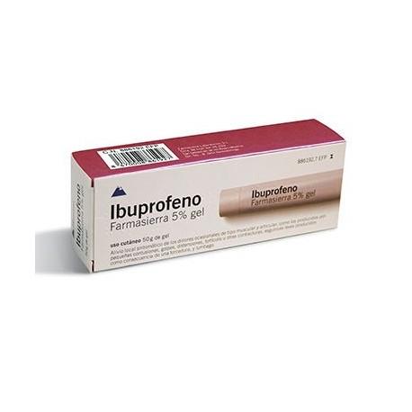 Ibuprofeno Farmasierra 5% Gel Topico 50 G