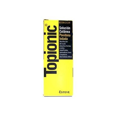 Topionic 10% Solucion Topica 100 Ml