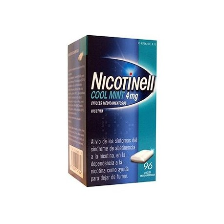 Nicotinell Cool Mint 4 Mg 96 Chicles Medicamento