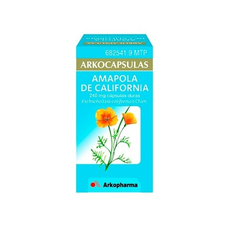 Arkocapsulas Amapola De California 240 Mg 100 Ca