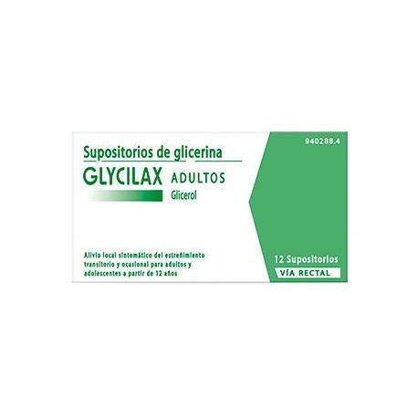 Supositorios Glicerina Glycilax Adultos 3.31 G 1