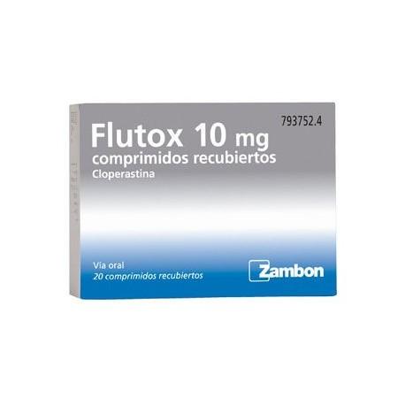 Flutox 10 Mg 20 Grageas