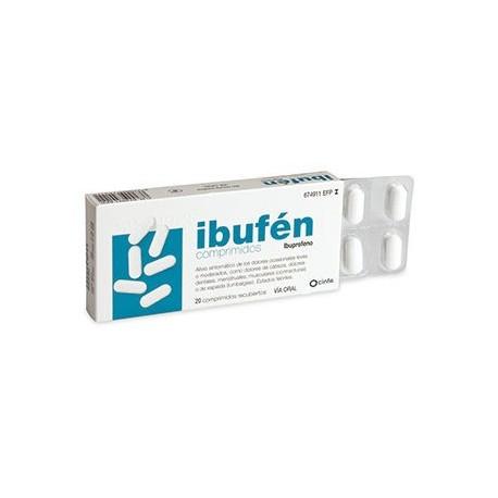 Ibufen 400 Mg 20 Comprimidos Recubiertos