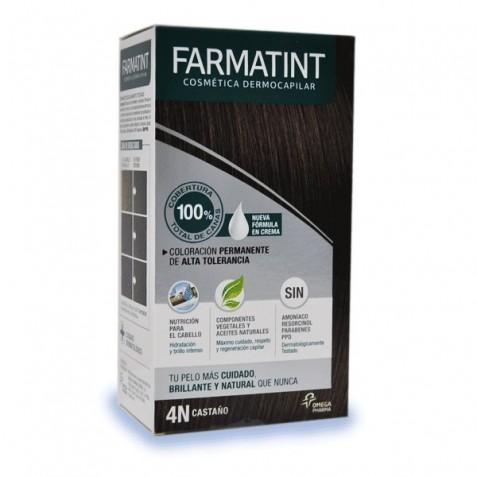 Farmatint 4n Castaño Coloración En Crema