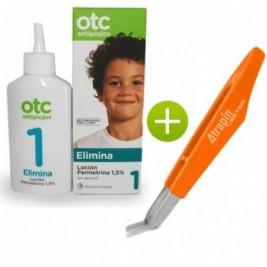 Otc 1 Elimina Locion Permetrina 1,5% 125 Ml + Atrapa-liendres Atrapín