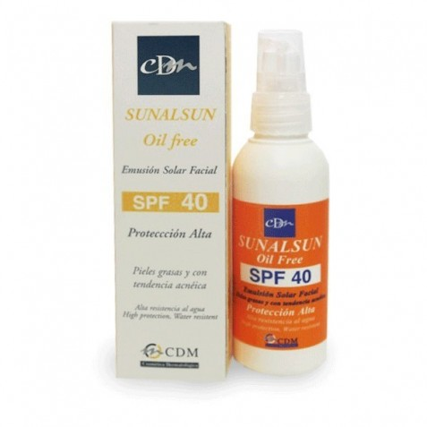 Sunalsun Oil Free Spf40 Emulsion Facial
