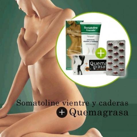 Somatoline Vientre Y Caderas 150 Ml + Quemagrasas Abdominal