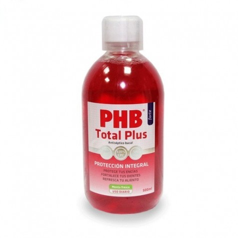 Phb Total Plus Antiseptico Bucal 500 Ml