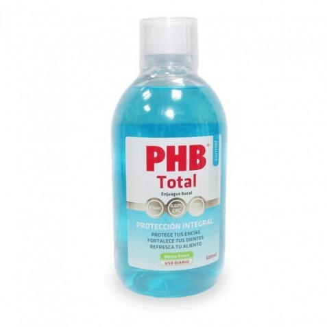 Phb Total Antiseptico Bucal 500 Ml