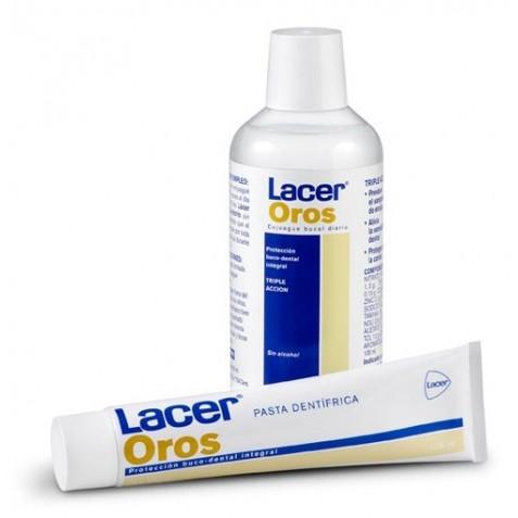 Lacer Oros Pasta 125 Ml + Colutorio 500 Ml